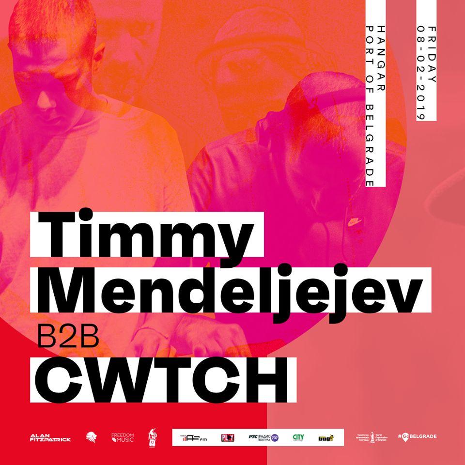 Timmy Mendeljejev & CWTCH warm up chart